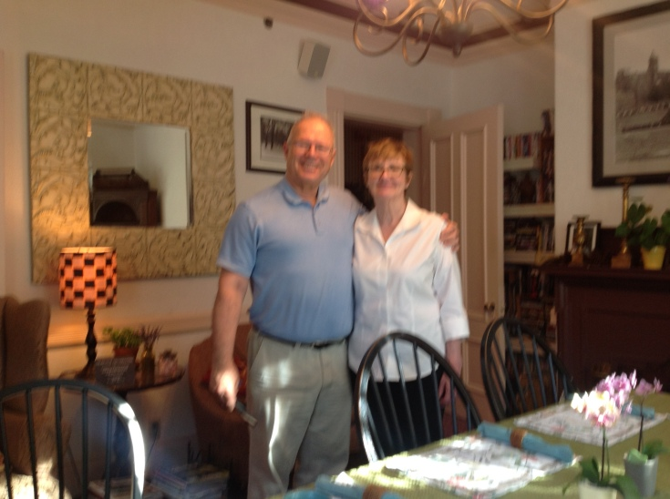 In B&B with driver (Dr Marilyn J Ray)